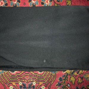 Black lululemon infinity scarf